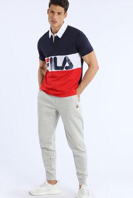 Block Short Sleeves Rugby Shirt