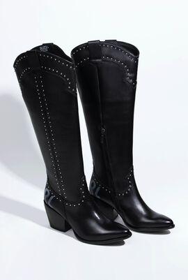 Kavalier Ii Karl Stud Hi Leg Boot