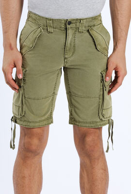 Pidji Dye Multi-Pocket Shorts