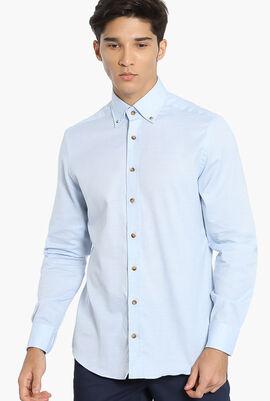 MayFair Luxury Melange Slim Fit Shirt