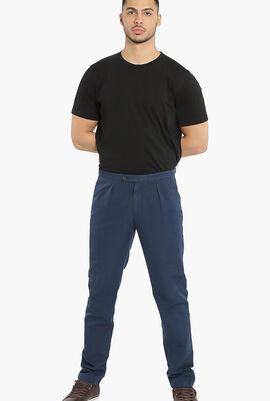 Solid Chino Pants