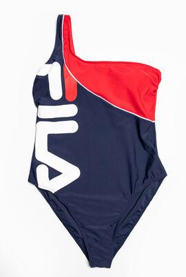 One Shoulder High Leg Swimsuit