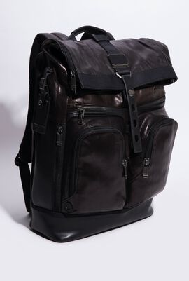 London Roll -Top Backpack