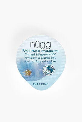Revitalizing Face Mask, Flaxseed & Peppermint Oil