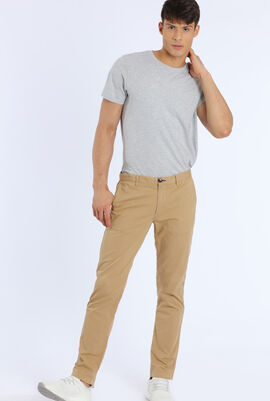 Mid Fit Stitched Chino