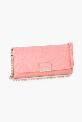 Sofia Leather Clutch