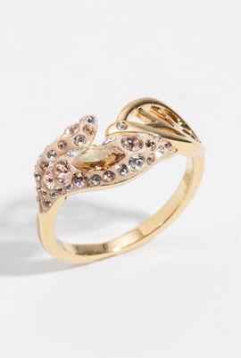 Graceful Bloom Ring, 52 mm