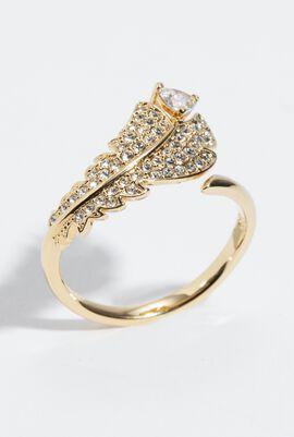 Simple Embellished Ring, 52 mm