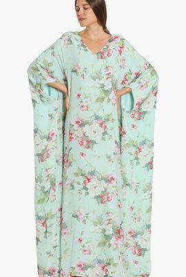 Bouquet Print Long Dress