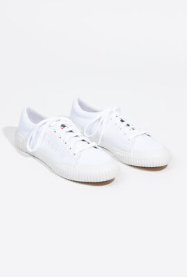 Dune Sport Optical White Sneakers