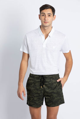 Moorise Khaki Camouflage Swim Trunks