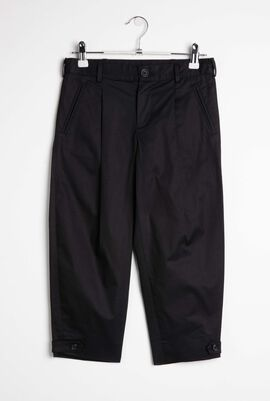 Crop Plated Trousers
