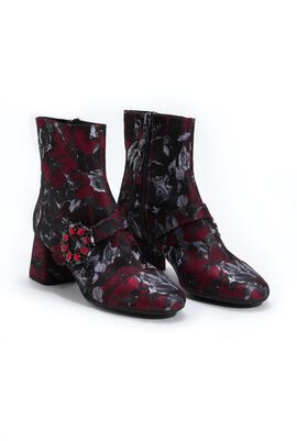 Seylise Printed Ankle Boots