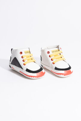 Black AND RED TRIM Sneakers