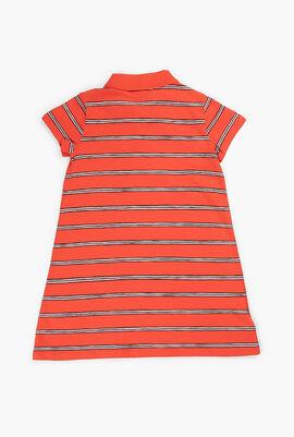 Striped Polo Dress