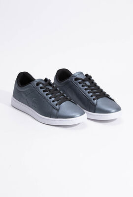 Carnaby Evo Leather Grey/Black Sneakers