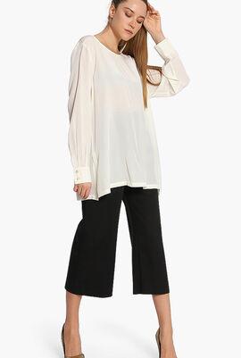 Plain Long Sleeves Blouse