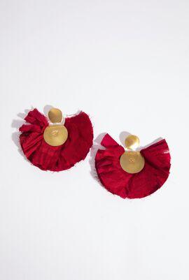 Hand fan Earrings