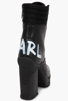 Voyage Ankle Brush Logo Boots