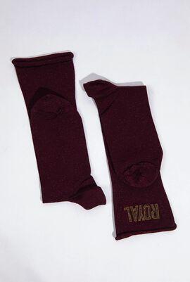 Leopard Midi Socks