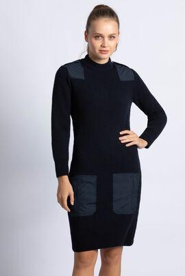 Slim Fit Wool Dress