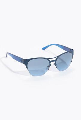 نظارة شمسية عصرية مربعة الشكل