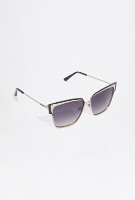 Chocolate Square Sunglasses