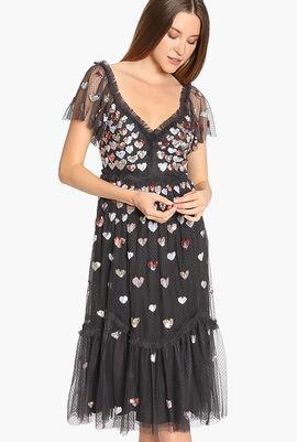 Loveheart Lace Dress