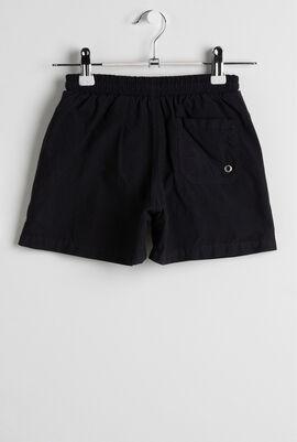 Black Tela Swim Shorts