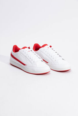 Courtclay PS Sport Optical White/Pure Red Sneakers