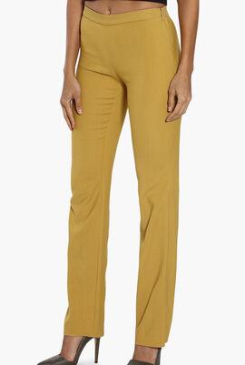 Plain Straight Pants