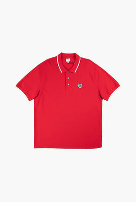 Fitted Tiger Polo Shirt