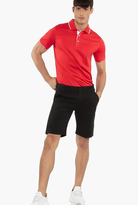 Chino Straight Fit Shorts