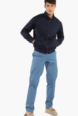 Lightweight Cotton Zip Jacket