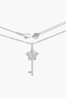 Lady Key Pendant Necklace