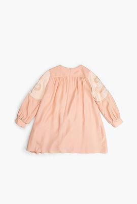 Embellished Long Sleeves Dress