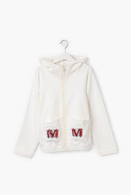 Embellished Hooded Jacket