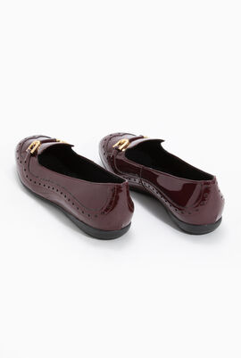 Annytah A Patent Leather Ballet Flats