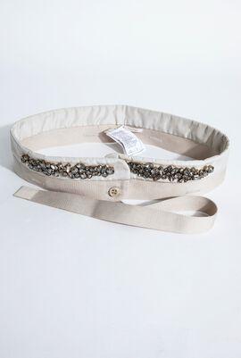 Cellula Beads Embellished Belt