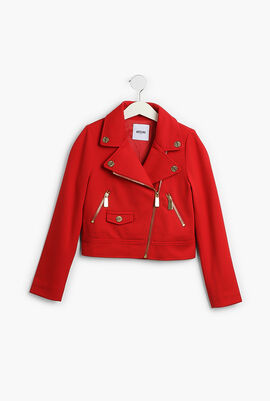 Rider Zip Pocket Jacket