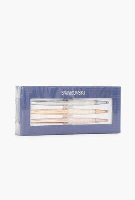 Crystalline Stardust Pen, Set of 3