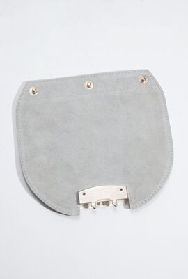 Metropolis Mini Crossbody Leather Flap