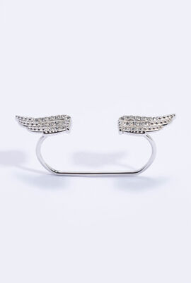 Wing Double Ring, 51