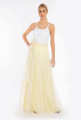 Organza Maxi Skirt