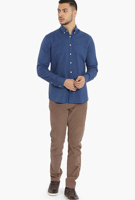 Polka Dot Brompton Slim Fit Shirt