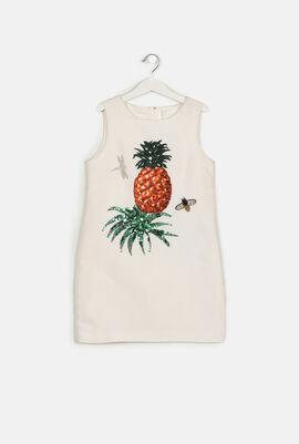 Pineapple Paillettes Dress