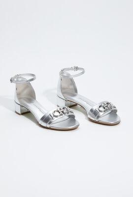 Como Gancini Detail Sandals