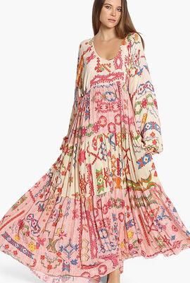 Enna Printed Maxi Dress