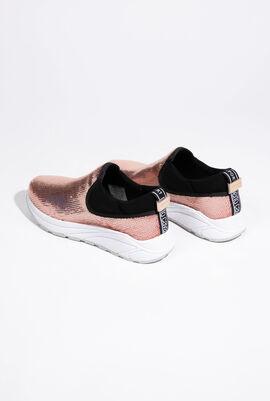 حذاء رياضي وردي Slack Pailletes