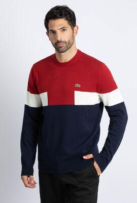 Crew Neck Colourblock Sweater